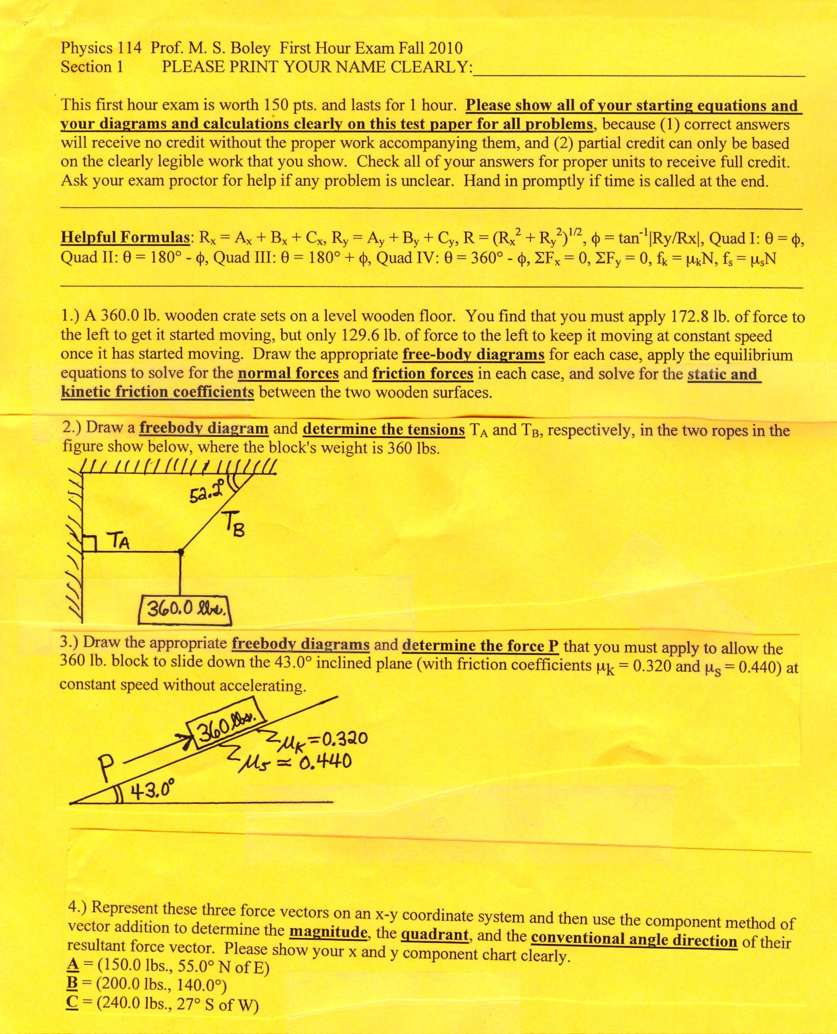 Physics 114